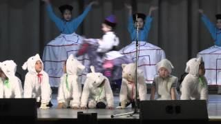 """Концерт фольклорного ансамбля """"Баяр"""" Детская школа искусств №3 г. Чита (1 часть)"""