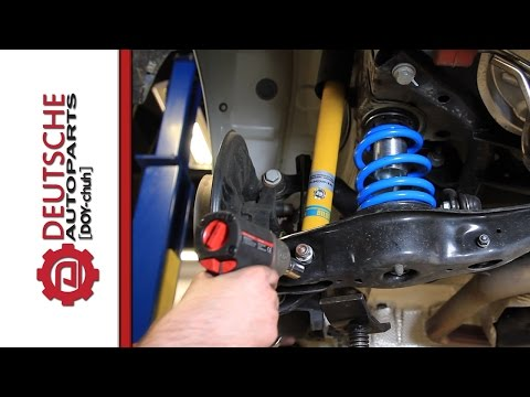 How To Install VW MK7 GTI Coilovers (MK7 GTI Mods)