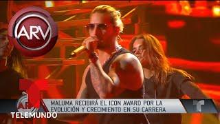 Maluma recibirá el Icon Award en los LAMAs | Al Rojo Vivo | Telemundo