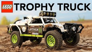 Fastest LEGO Technic BAJA Trophy Truck with SBrick