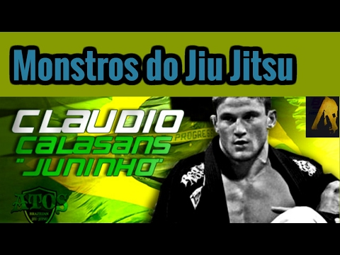 Monstros do jiu jitsu Claudio Calasans