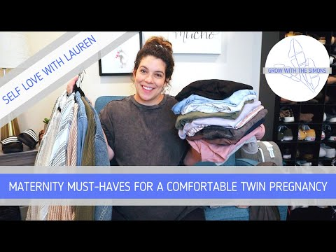Maternity Clothes MUST-HAVES For A Comfortable Twin Pregnancy