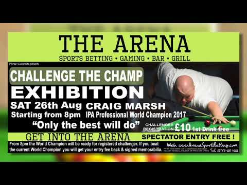 Pool exhibition this weekend 25.08.17