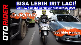 Yamaha All New Aerox 155 Connected/ABS 2020 - Test Ride Harian | OtoRider