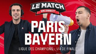 🔴 Paris - Bayern (Ligue des champions) / Le Match en direct (Football)