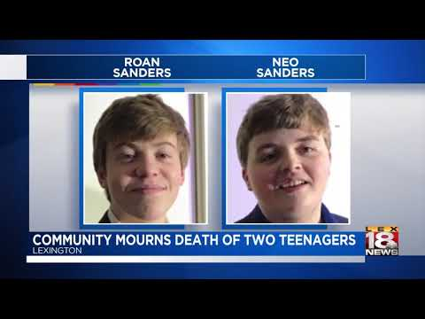 Community Mourns Death of Two Teenagers