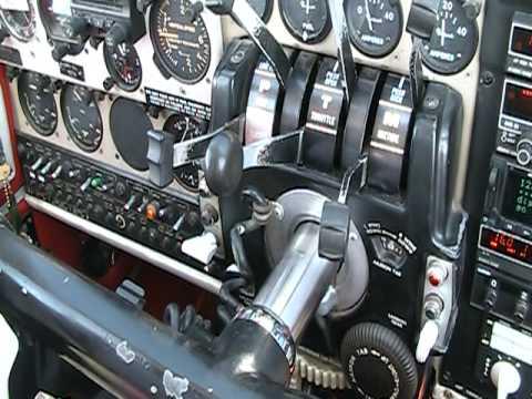 Beech Baron Simulated Engine Failure