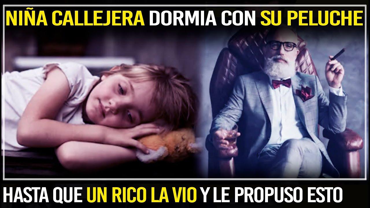 Niña Callejera Dormia Con Su Peluche Hasta Que Un Millonario La Vio Y Le Propuso Esto