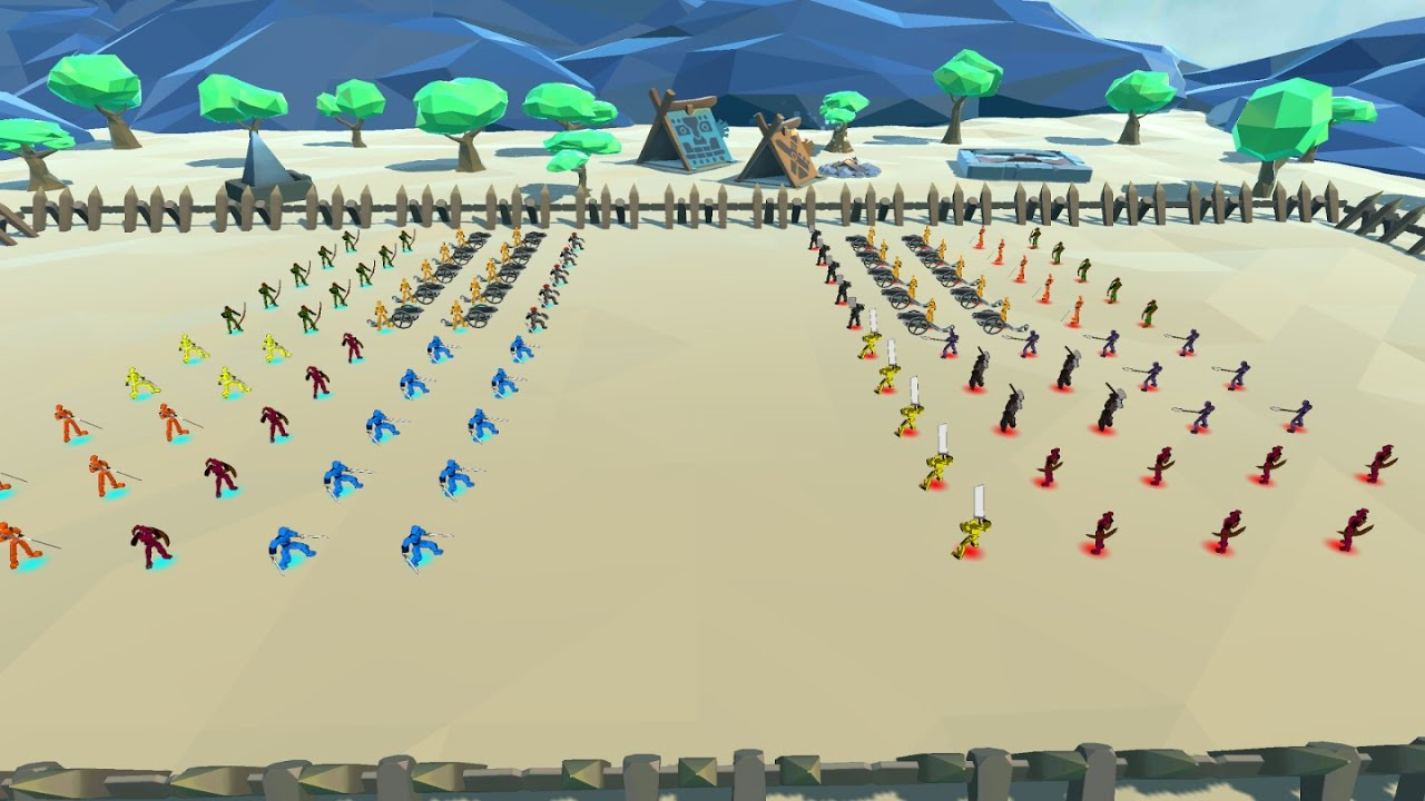 totally accurate battle simulator android apk