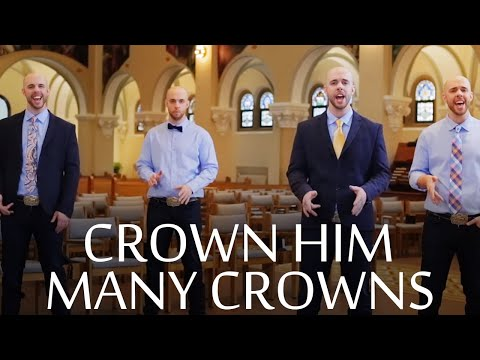 Crown Him With Many Crowns - A Cappella - Chris Rupp (Official Video)