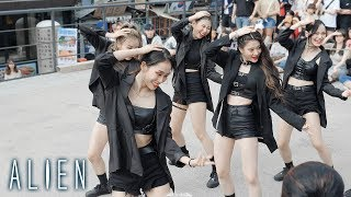 ALiEN | Finesse - Bruno Mars | Choreography by Euanflow @ 홍대버스킹 | Filmed by lEtudel