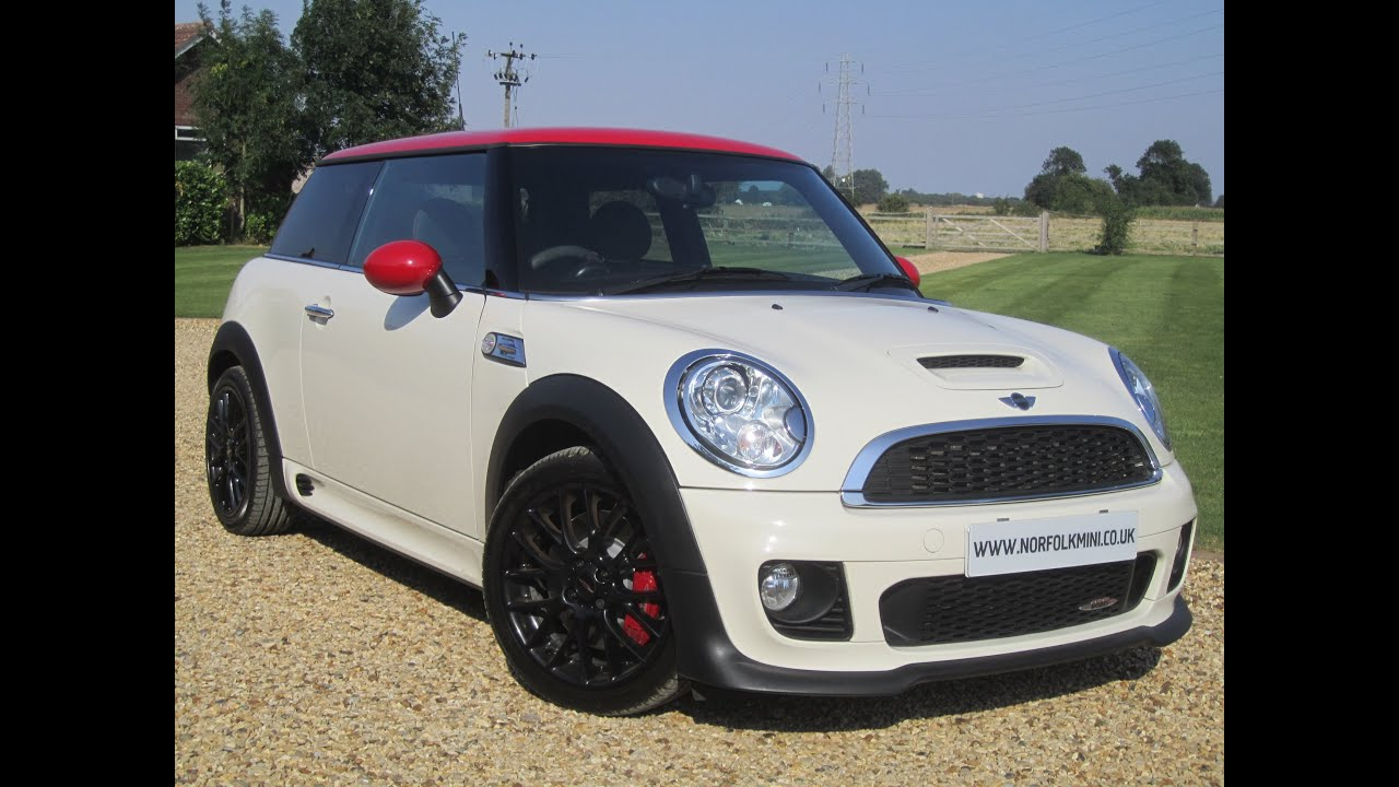 Mini John Cooper Works 2012 White Jcw Youtube