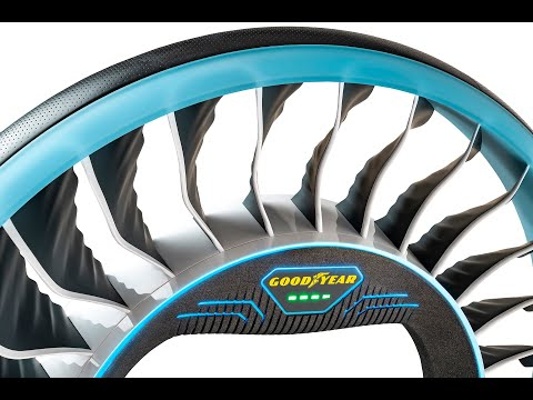 Goodyear Aero - A two-in-one tire for the autonomous, flying cars of the future.