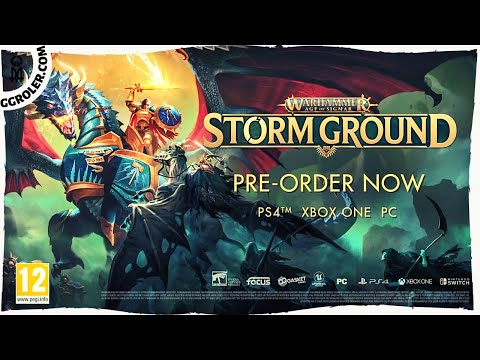 Warhammer Age of Sigmar Storm Ground Gameplay Overview Trailer |