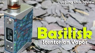 Stentorian Basilisk 200 Watt Resin Mod - Review