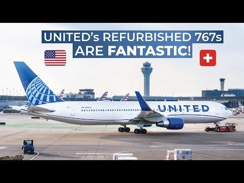 TRIPREPORT | United (ECONOMY) | Boeing 767-300ER | Washington Dulles - Zurich