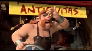 Asterix - Az istenek otthona (teljes) 2015