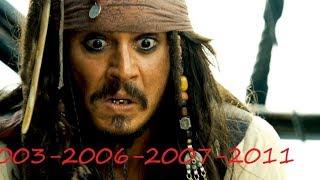 Все сцены после титров из фильмов Пираты Карибского моря. 2003-2006-2007-2011