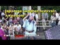 Funny face dancer in japan!Japanese traditional dance Awaodori