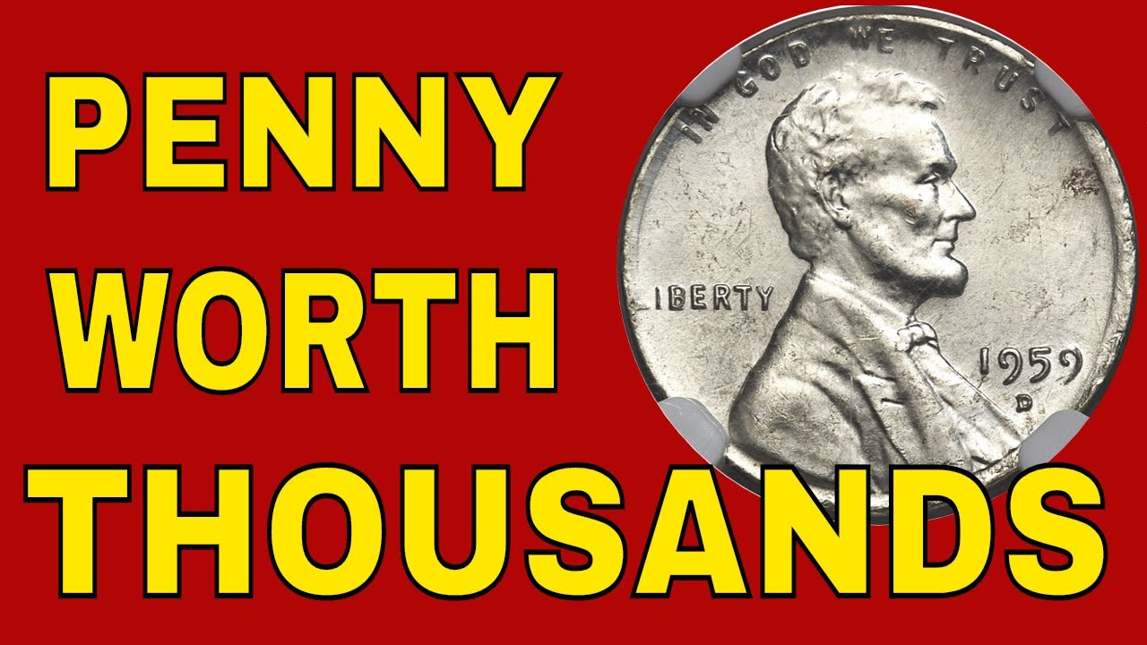 Pennies worth money in your change! 1959 pennies you should know about
