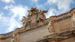 Trevi Fountain, Rome, Italy - 1080HD