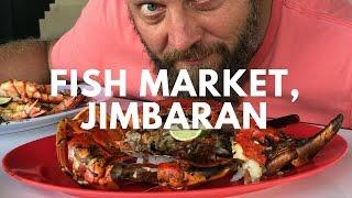 Рыбный рынок на Бали -  Джимбаран || Где поесть морепродукты на Бали?