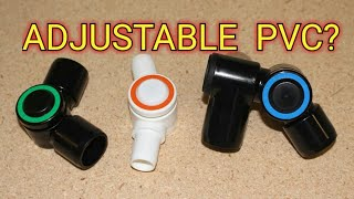 NEW Adjustable PVC Pipe?