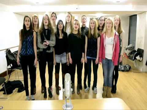 Acapella Happy Birthday from The Oxford Belles