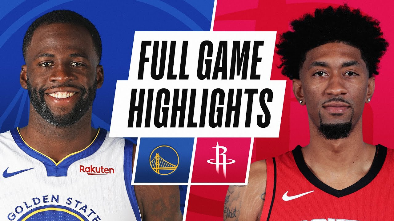 WARRIORS at ROCKETS | FULL GAME HIGHLIGHTS | March 17, 2021