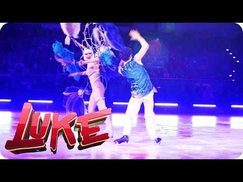 Wer probt, der kann nix - Luke bei Holiday on Ice - LUKE! Die Woche und ich