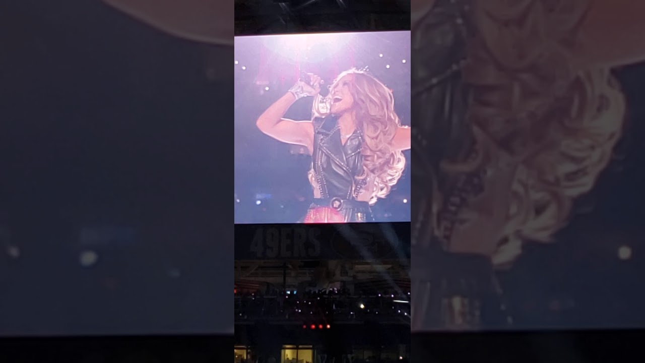 Download SUPERBOWL LIV HALFTIME SHOW 02-02-2020 - View from 30yard line