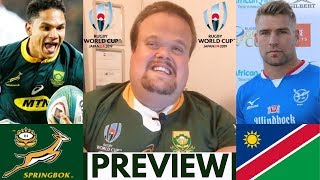 Springboks vs Namibia Preview | Rugby World Cup 2019