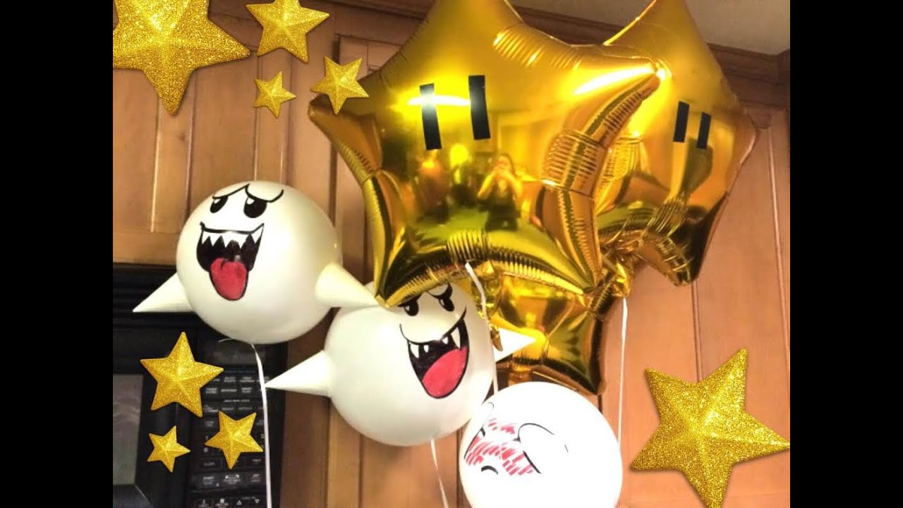 DIY Mario Themed Balloon Bouquet!! Perfect for Parties ...