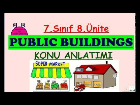 7. Sınıf 8. Ünite (Public Buildings - Konu Anlatımı)
