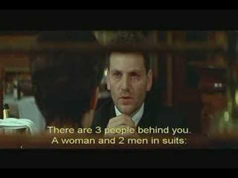 "Restaurant Scene in Luc Besson's ""Nikita"""