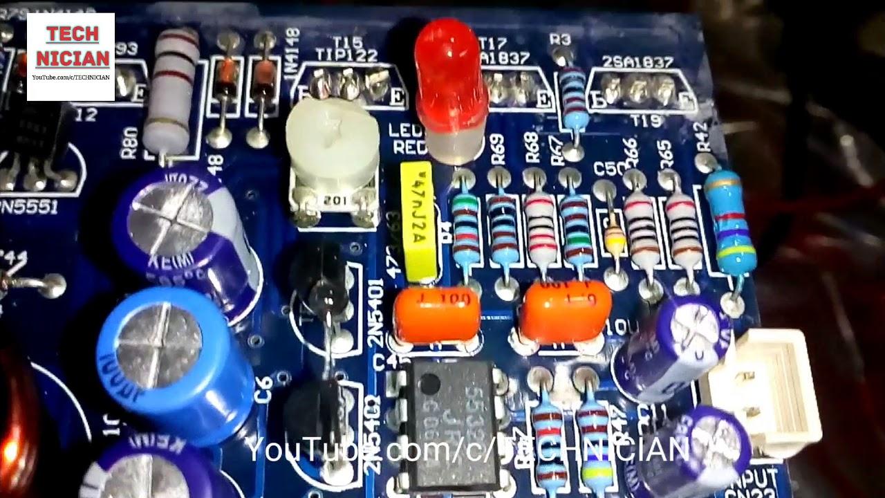 Amplifier Module Rx4000 Youtube Power Amp Circuit Diagrams