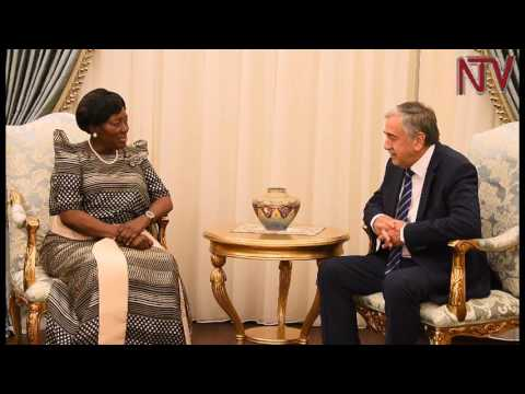 Kadaga in Cyprus: Speaker sells Uganda