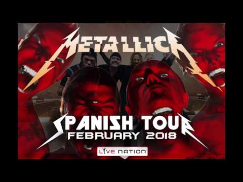 Metallica In Live Madrid 2018 Spanish Tour Full Concert