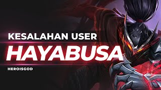 KESALAHAN USER HAYABUSA | Mobile Legends Indonesia