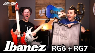 ibanez rg6pcm rg7pcm guitars let s rock these muthers
