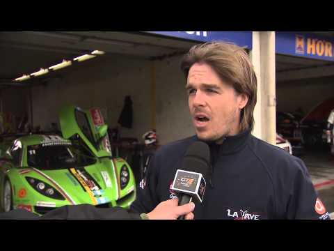 Jose Manuel Balbiani about his first weekend in Competition102 GT4 European Series