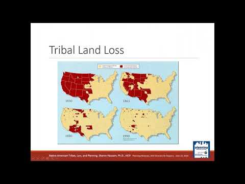 Native American Tribes, Law, And Planning
