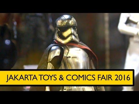 Jakarta Toys & Comics Fair 2016