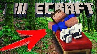 ЧТО БУДЕТ ЕСЛИ УСНУТЬ В ЛЕСУ??? — Обзор Мода (Minecraft)