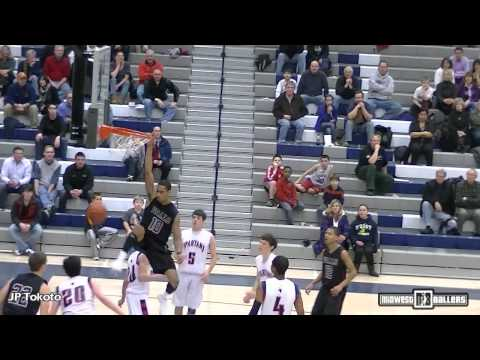 Midwest Ballers - January Top Plays - JP Tokoto, Deonte Burton, Kevon Looney and MORE!!!