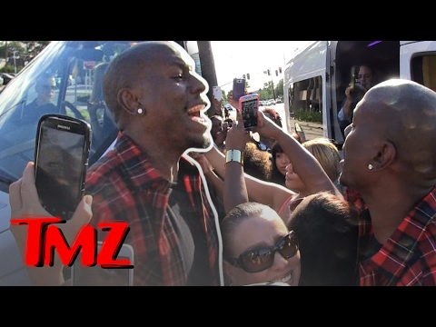 Tyrese – Live in Concert! On the Street! | TMZ