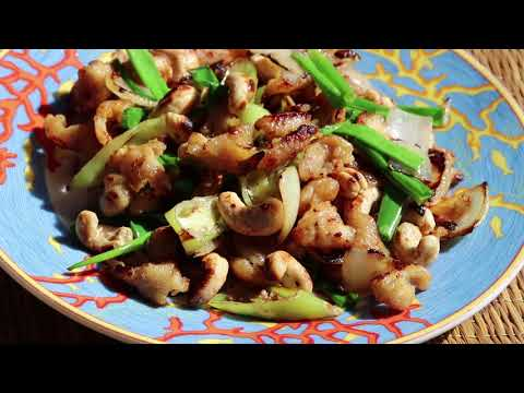 Thai Cooking – Chicken & Cashew Nuts