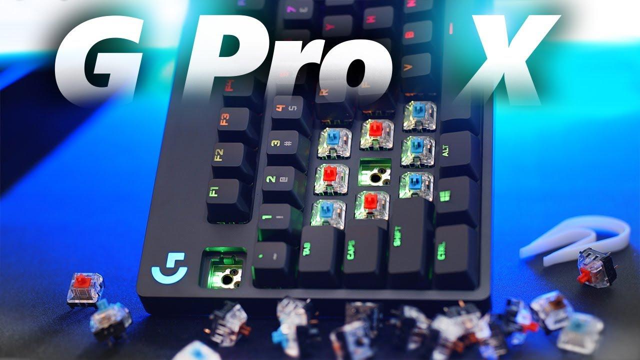 Logitech G Pro X Keyboard Review! Bring on the Mech.