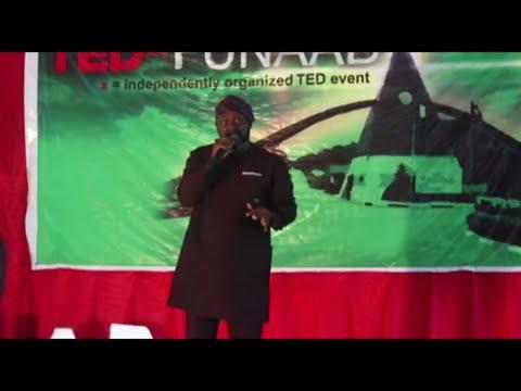 Present moment Awareness | Ademola Ogunbanjo | TEDxFUNAAB