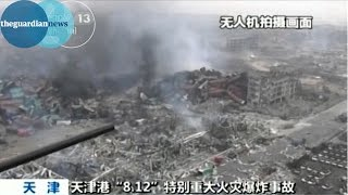 Smoke continues to billow from smouldering rubble on Friday, two da...